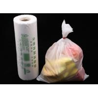 PLA biodegradable continuous rolled bag household food hand-torn supermarket biodegradable bags environmental Manufactures