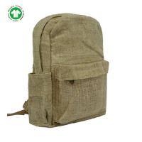 Buy cheap Shoulder Unique Backpacks For School Organic Hemp Recycled Spacious Classic from wholesalers