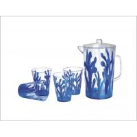 Plastic Blue Coral Cold Water Pitcher (NR-3159 blue) Manufactures