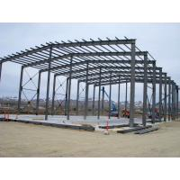 Rigid Steel Building Frame For Textile Factories / Farm Building Infrastructure Manufactures