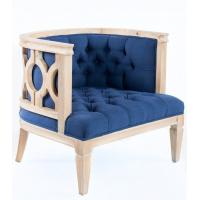 French style craved linen fabric wooden solid event chair for weddings parties executive occasional design and Manufactures