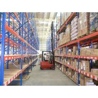 China 2 - 8 Layer Heavy Duty Metal Storage Racks , Drive-in Pallet Racking / Shelving System on sale