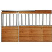 Indoor Portable Steel Tube Metal Horse Stable Fence Panel With Sliding Manufactures