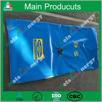 Square type eco-friendly flexible durable movable strong plastic camping water bladder Manufactures