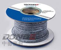 Carbonized Fibre Braided Packing with PTFE dispersion and lubricant