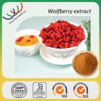China manufacturer sales high quality 30% polysaccharides goji extract Manufactures