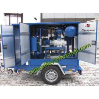 Insulation Oil Purification, Mobile Transformer Oil Filtration Machine for outside field transformer service Manufactures