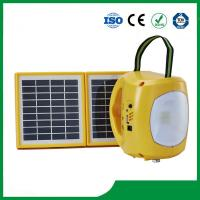 Solar lantern with 9pcs led light, phone charger, cheap price for sale Manufactures