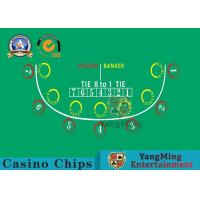 Factory Design Customization 7-player Baccarat Table Layout Manufactures