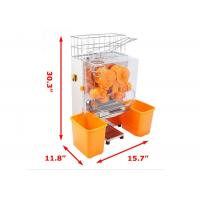 China Catering Commercial Orange Juice Squeezing Machine With Peeling Off on sale