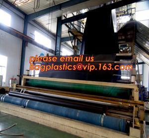China 1mm hdpe geomembrane indoor fish farming tank 1.0mm geomembrane,2mm high density polyethylene waterproof membrane BAGEAS on sale