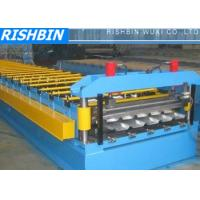 China IBR Corrugated Sheet / Trapezoidal Roof Panel Roll Forming Machine for Roof Sheet on sale