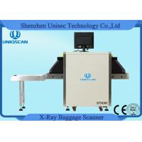 Buy cheap Small Dual Energy X Ray Luggage Scanner 500*300mm Tunnel Baggage Scanner from wholesalers