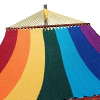 Multicolor Striped Polyester Hammock Manufactures