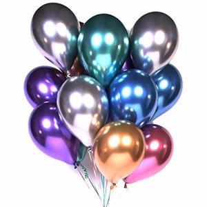 Happy Birthday Helium Party Balloons , 12 Inch Latex Metallic Balloons Manufactures