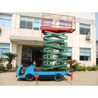 500Kg loading truck mounted scissor lift 7.5m Height Manufactures