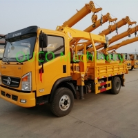 6t Straight Boom 12m Telescopic Lorry Mounted Crane Manufactures