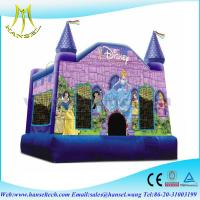 China Hansel slide used commercial inflatable bouncers for sale in party on sale