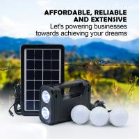 China Working 30 Hours 6V 3W Home Solar Power System Solar energy system with LED Torch desk lamp led bulb on sale