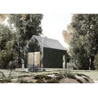 European standard wooden cabin chalet prefab light steel lodge house for resort and holiday CE certificate Manufactures