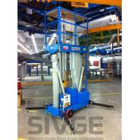 Aluminum Alloy Hydraulic Lift Ladder 14 Meter Working Height For Window Cleaning Manufactures