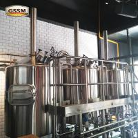 Buy cheap Direct Fired Commercial Beer Brewing Equipment With Combi - Tank / Kettle from wholesalers