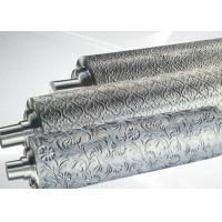 PP ABS Embossing Roller Surface Hardness HRC55~58 , PVC Mirror Roller Manufactures