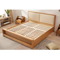 Quality Pine Queen Size Solid Wood Bed Frame With Drawers Chunky Wooden Beds High Standard for sale