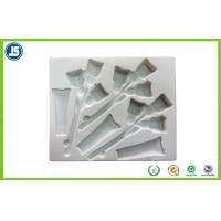 Quality Transparent Plastic Cosmetic Trays biodegradable with Vacuum formed for sale