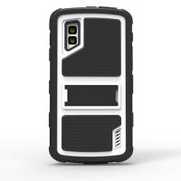 Black White Nokia Lumia 920 Covers with Stand Skidproof , PC Manufactures