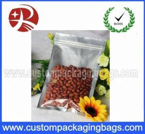 Zip lock Aluminium Foil Plastic Peanut Food Packaging Bags Water Proof Manufactures