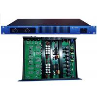 High Power Wireless Stereo 1U Digital Power Amplifier 750W For Club