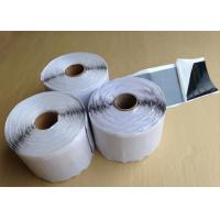 White Self Adhesive Butyl Sealing Tape For Insulation / Anti Vibration 2mm Manufactures
