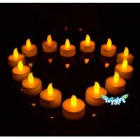 Quality Flickering LED Tea Light Battery Candles for sale
