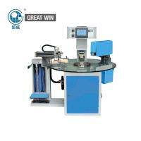 1.5kw Shoes Digital Printing Machine , Multi - Station Rotary Table Label Hot Stamping Machine Manufactures