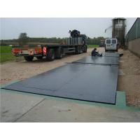 China 10t - 200t SCS Heavy Duty Truck Weight Scales With 2 Platforms , Continuous Welding on sale