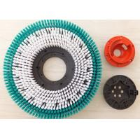 Floor Scrubber Cleaning Equipment Brushes , Rotary Sweeper Scrubbing Brush Manufactures
