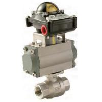 Screwed End 1000WOG Pneumatic Operated Valve Live - Loading Design Manufactures