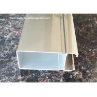 6m Normal length Aluminium Extrusion Profiles For Washroom Door Manufactures