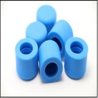 3D Drawing Molding Rubber Parts Sealing Profile Cylindrical Silicone Rubber Cap Manufactures
