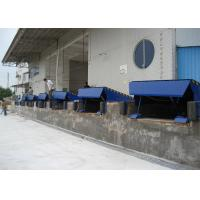 China Single Cylinder Hydraulic Dock Levelers For Sea Port Physical Distribution on sale