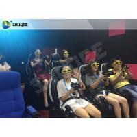 Entertainment 7D Cinema System 7D Seats With Special Effect Of Spray Air Manufactures