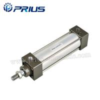 SC / SU Standard Air Cylinders , Adjustable Buffer Double Acting Air Cylinder Manufactures
