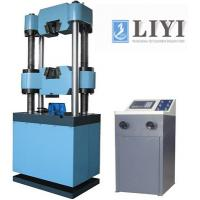 China 200mm Piston Displacement Electronic Universal Hydraulic Testing Machine For Composite Materials on sale