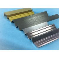 Customized Length Aluminium Floor Strips / Aluminium Trim For Ceramic Decoration Manufactures