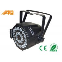 Color Change Indoor Stage Lighting LED Par Can Lights Par64 for Theatre / Wedding Manufactures