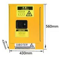 China Locker Laboratory Equipment Chemical Flammable Storage Cabinet 460*430*430 on sale