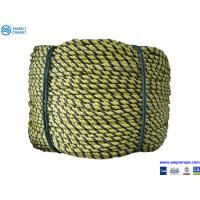 supply 3 plait PE tiger rope Manufactures
