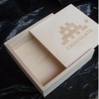 China wooden box for chocolate/candy box packaging, slide lid box on sale