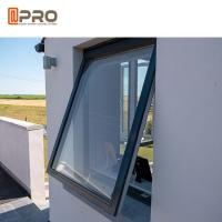 1.4mm Frame Thickness Metal Awning Windows / Aluminium Single Top Hung Window Manufactures